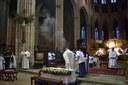 Célébration du Jeudi Saint à la cathédrale Saint-Étienne
