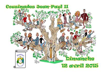 Les Cousinades Ce Jean Paul Ii Paroisse Saint Jean Paul Ii