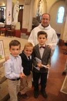 Première communion des plus jeunes