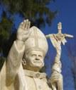 Une Statue du bienheureux Pape pour notre future paroisse JEAN-PAUL II
