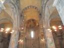 Abu Gosh<br />Messe dans cette très belle église de Abu Gosh, à 15 kms de Jérusalem, lieu possible d'Emmaus selon les Croisés,  et située dans un jardin luxuriant !